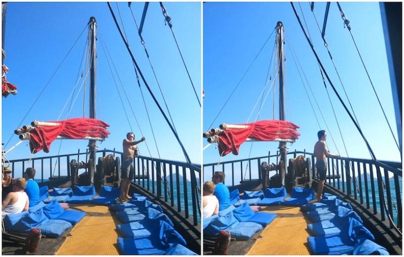 Krabi Sunset Cruises Siamese Junk Boat