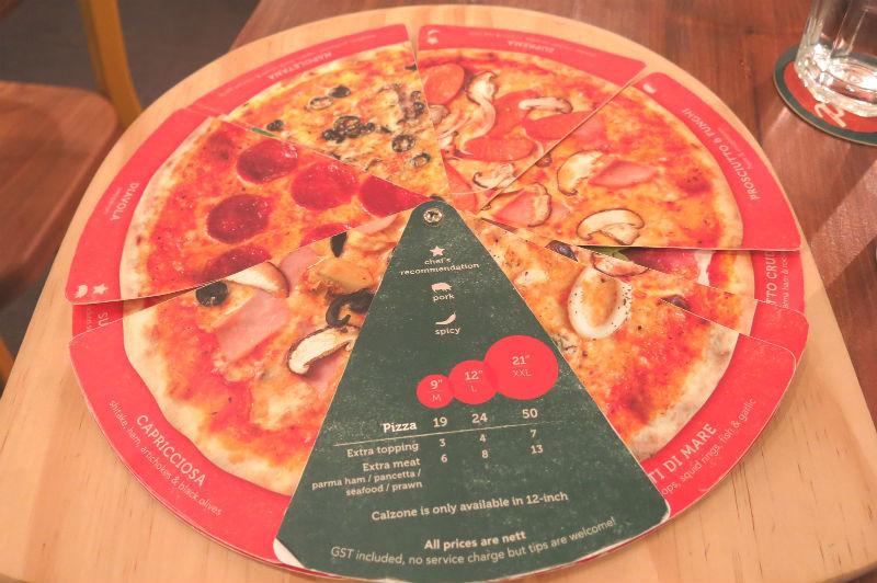 Peperoni Pizzeria Menu