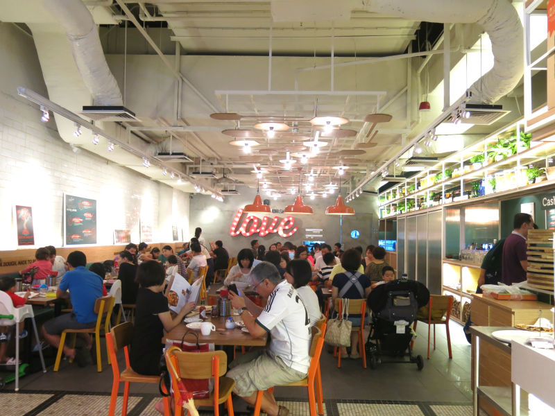 Peperoni Pizzeria Suntec Interior Design
