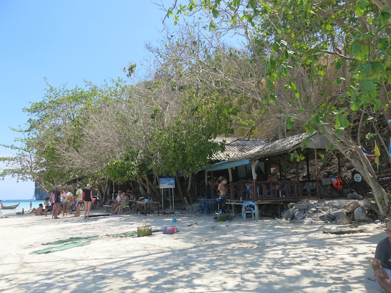 Restaurant at Chicken Island (Koh Kai)