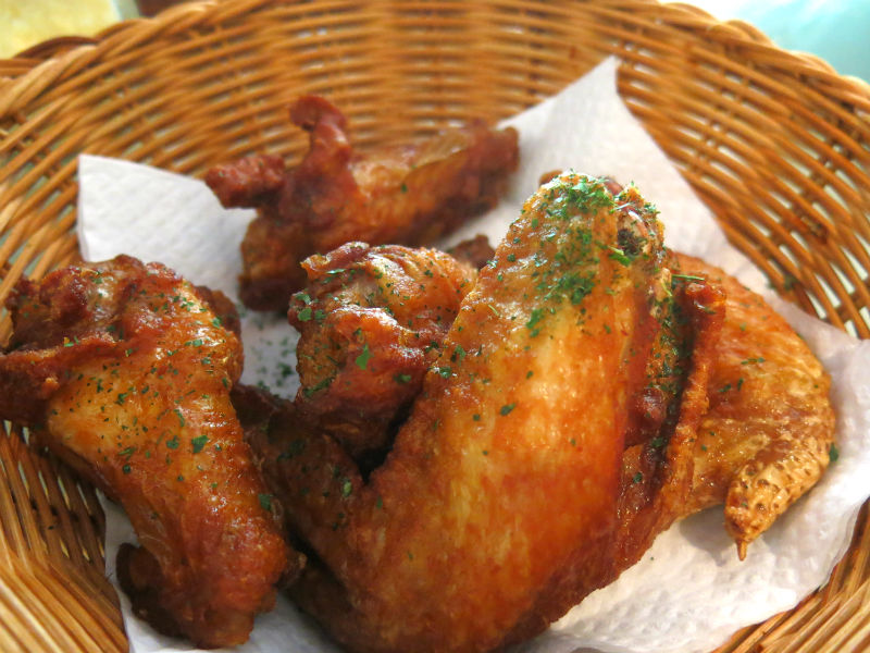 Aglio Olio Chicken Wings at China Square Central (Singapore)