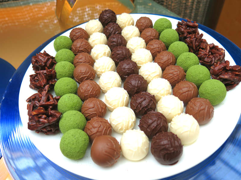 Greenhouse Buffet Chocolate Pralines