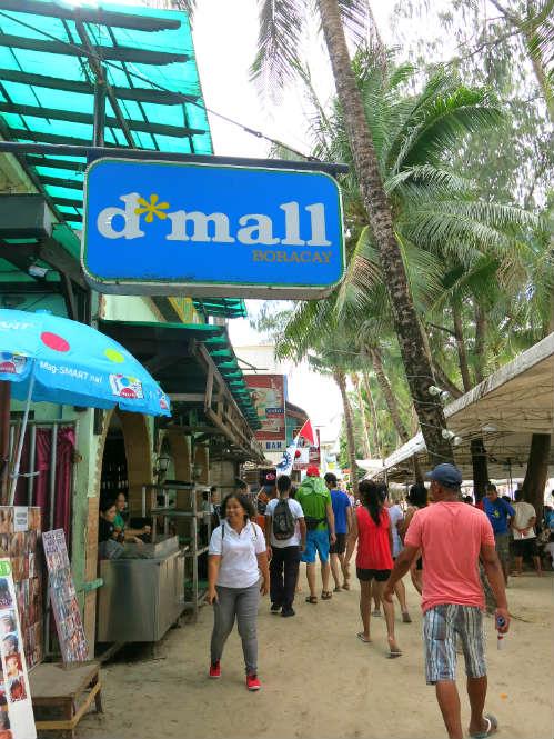 D'Mall Logo