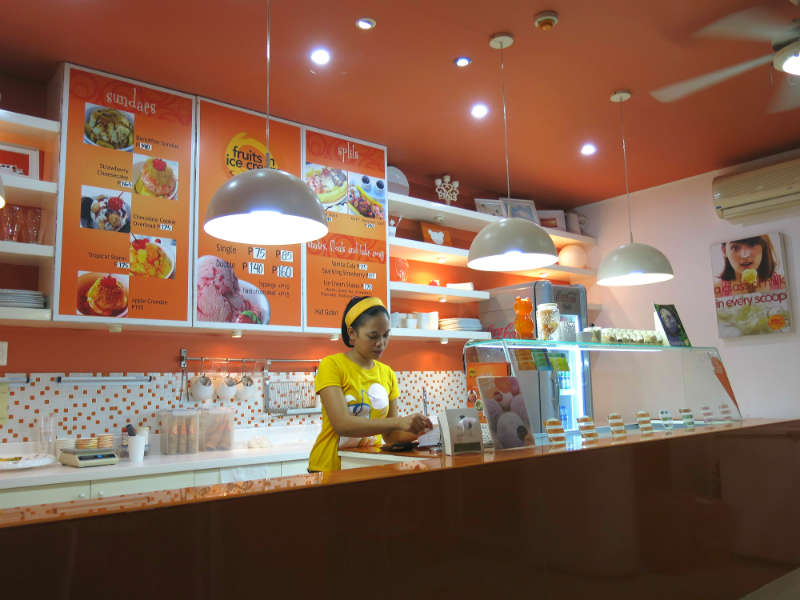 Boracay Fruits in Ice Cream Summer Cafe