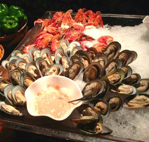 Shangri Boracay Seafood Buffet