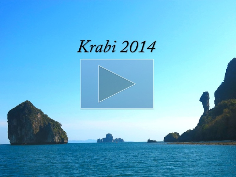 Krab 2014 Travelogue