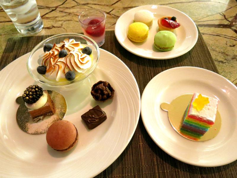 Seasonal Tastes Westin Desserts Paradise