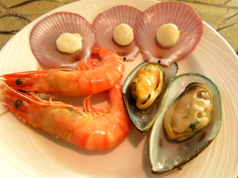 Seasonal Tastes Westin Seafood Dishes