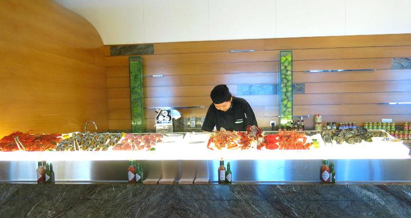 Seasonal Tastes Westin Seafood Spread