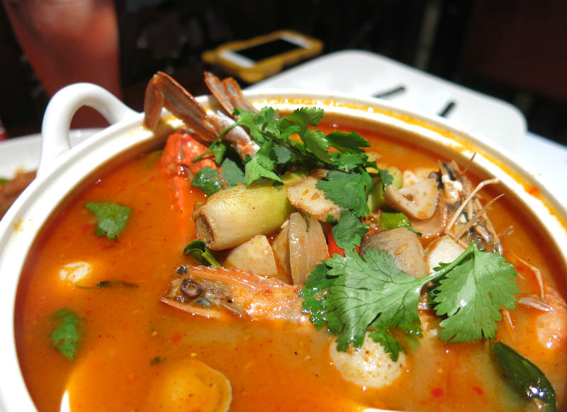 Simply Thai Tom Yam Seafood Soup