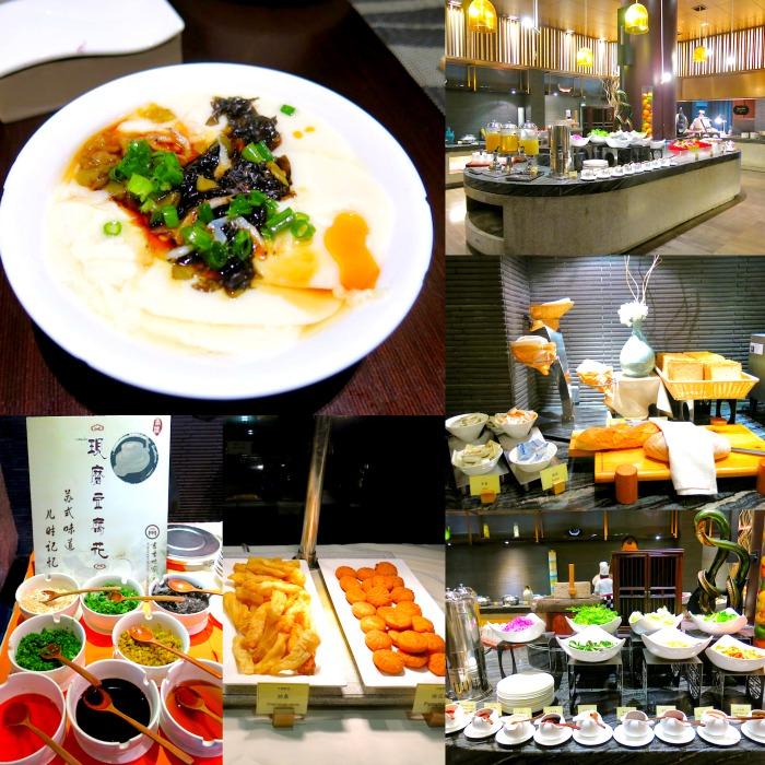 Scholars Hotel PingJiangFu Suzhou Breakfast