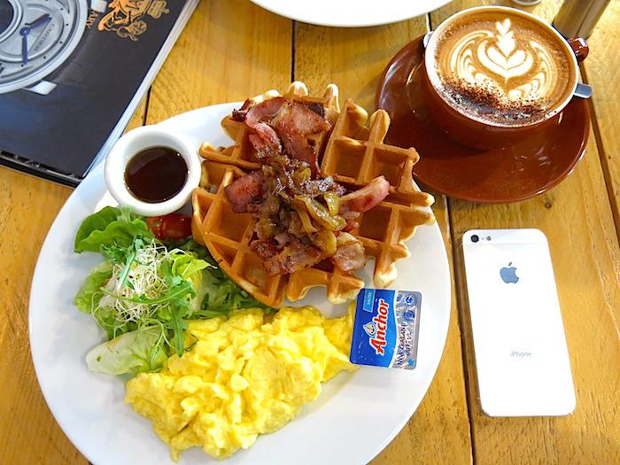 Waffle Slammer at Tolido's Espresso Nook
