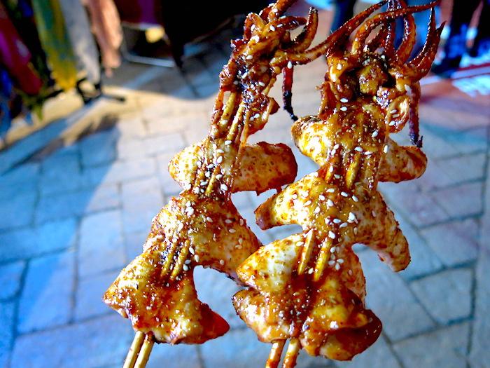 Suzhou Ping Jiang Lu Street Food