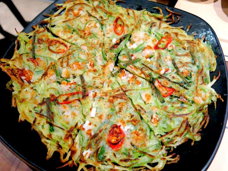 Seafood Pancake - Twins Korean Restaurant