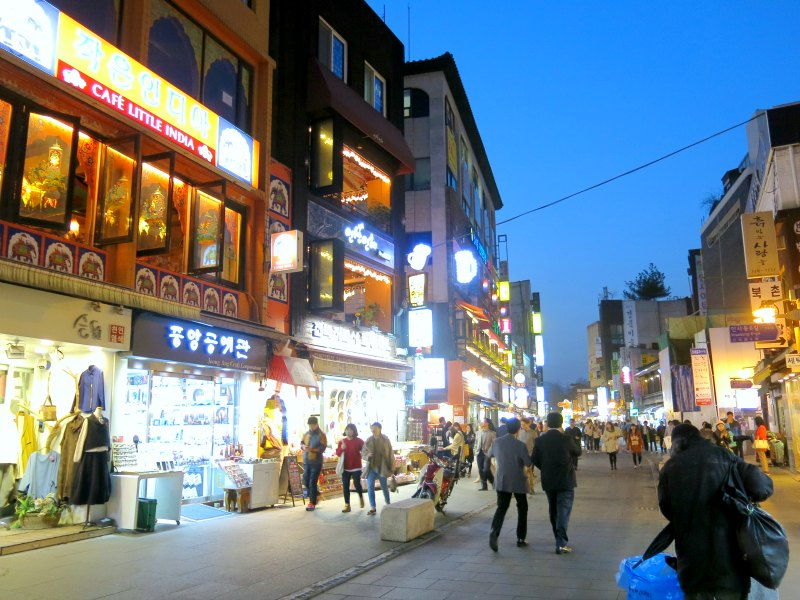 Streets of Insadong