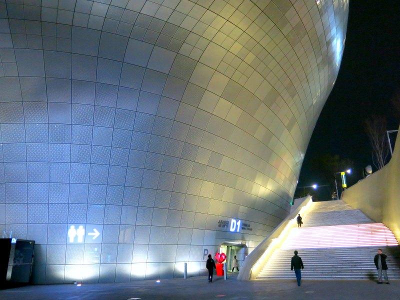 Dongdaemun Design Plaza Staircase