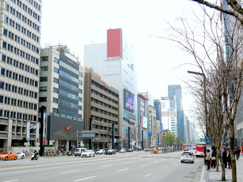 Nike Store in Gangnam Seoul