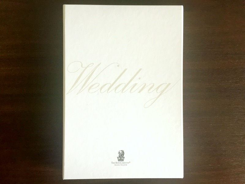 The Ritz-Carlton Millenia Singapore Wedding Brochure