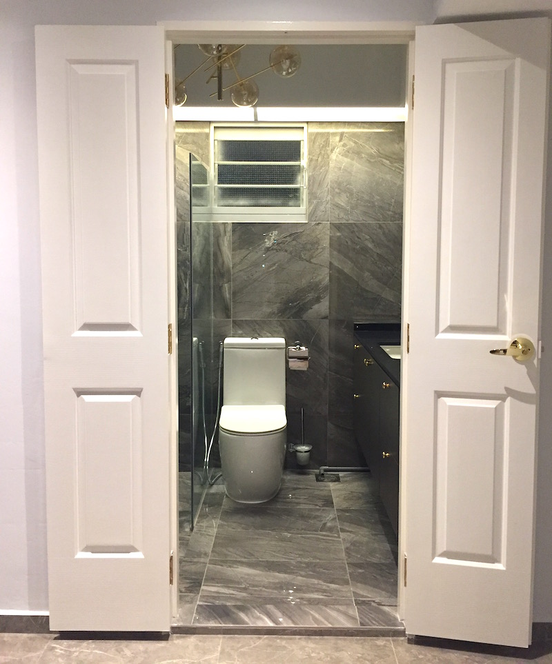 The above is Raevian\u0027s favourite door in the house the Classic French Door* ($590)! We installed it for our master bedroom toilet. & Home Door Enterprise - Our Review of this Door Installation Company ...