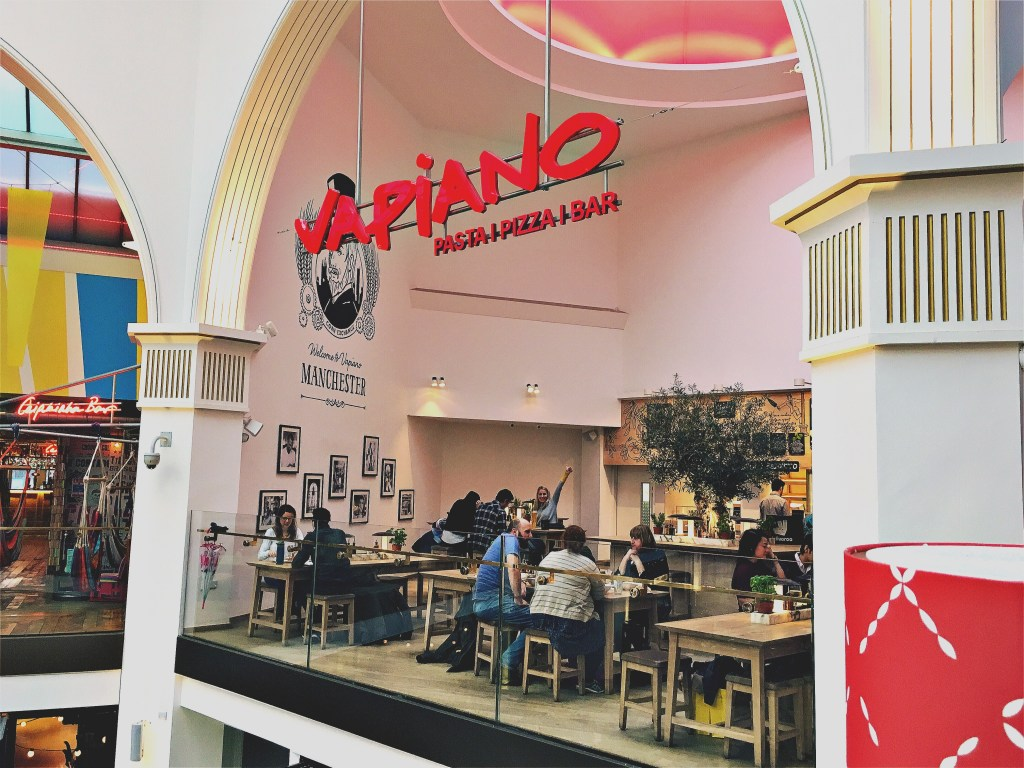 Vapiano Manchester at the Corn Exchange