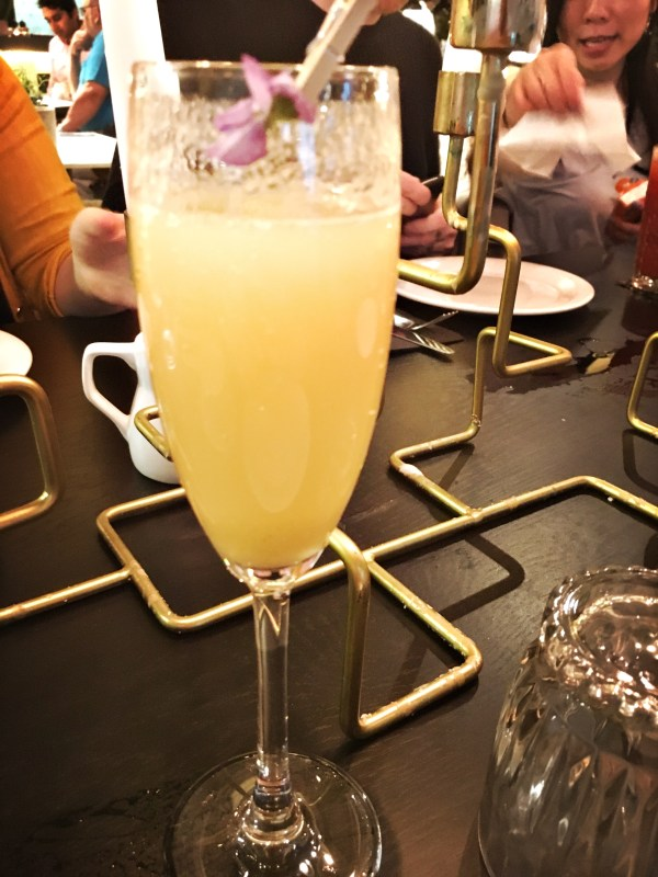 Bellinis at the Refinery