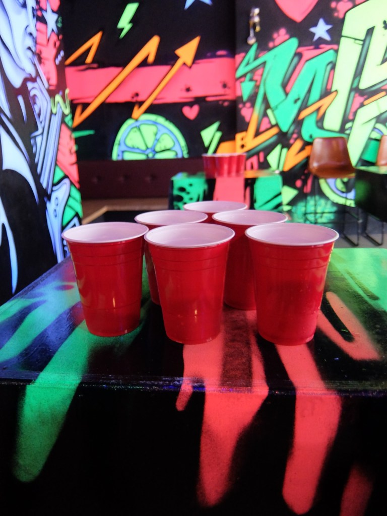 Beer Pong at Roxy Room