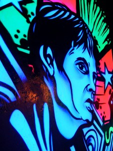 Ian Curtis UV at Roxy