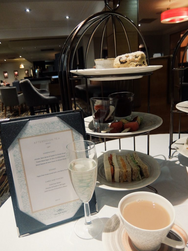 The Afternoon Tea Looked Great