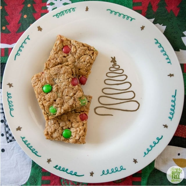 Busy Mom's Gluten-Free Monster Cookie Bars