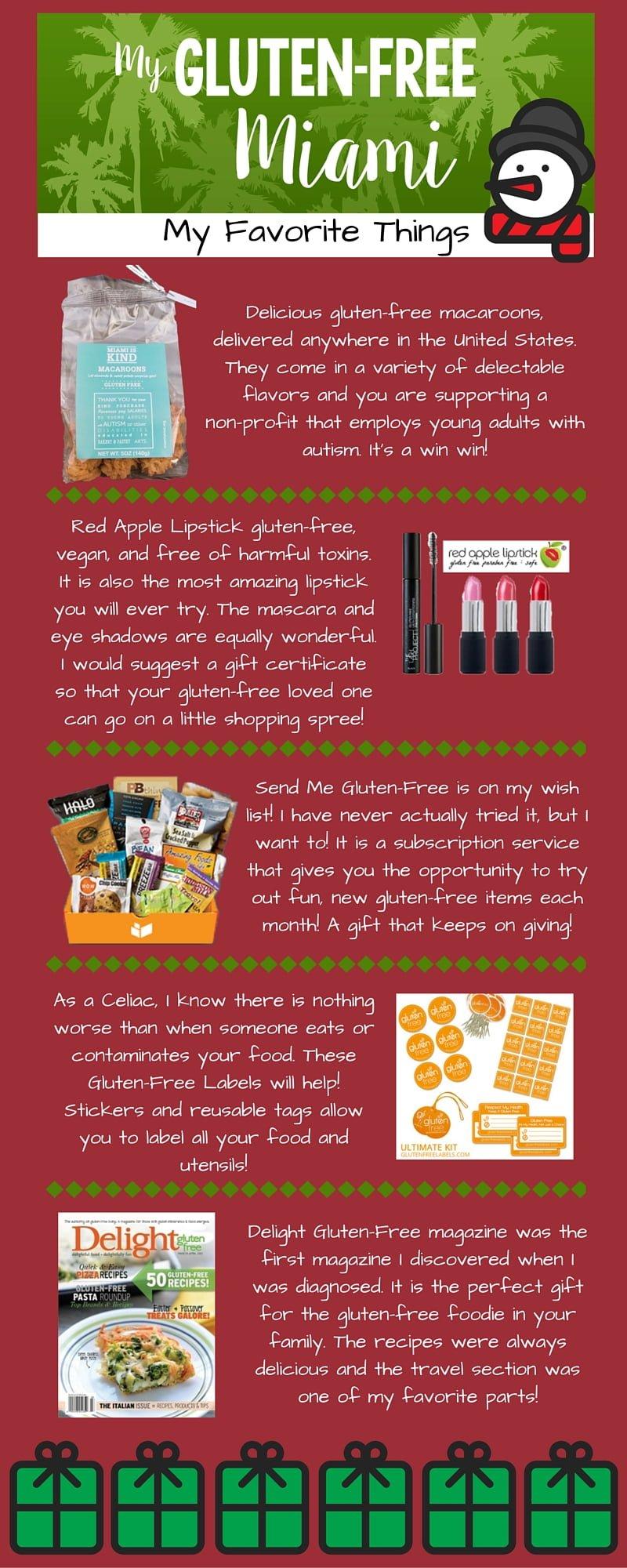 Gluten-Free Christmas Wish List