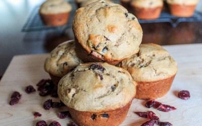 Barley Fruit Muffins