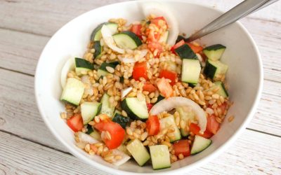 Barley Summer Salad