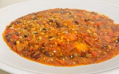 Pumpkin & Barley Chili