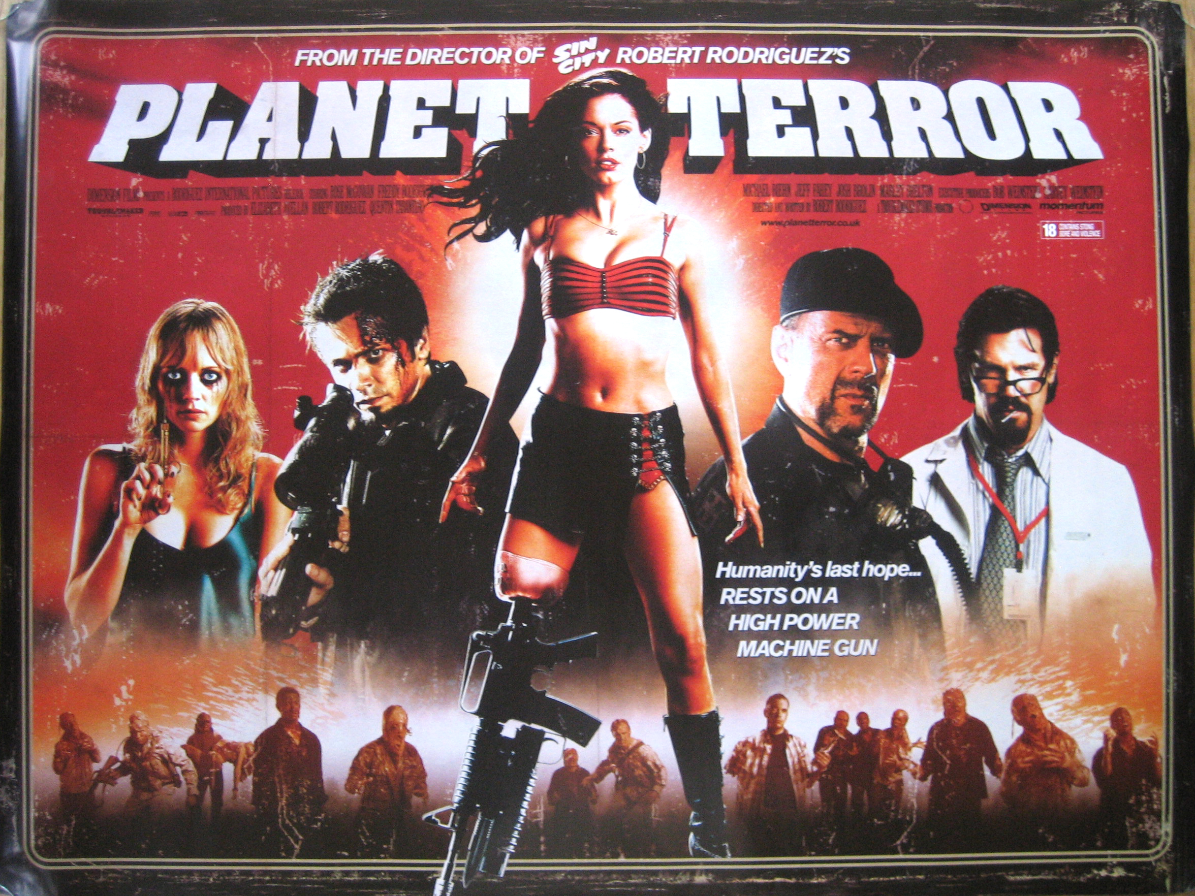 Grindhouse/ Planet Terror Poster