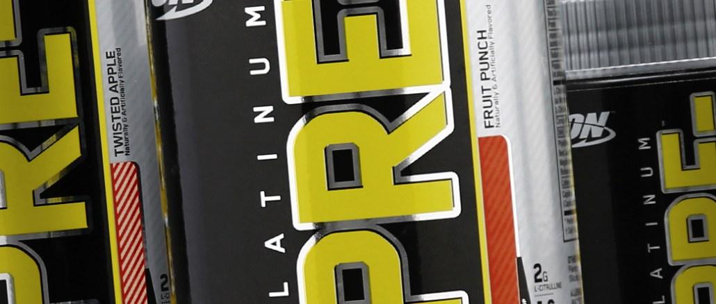 Best Pre Workout Optimum Nutrition Platinum Pre Raspberry Lemonade 30 servings 8.45 Ounce