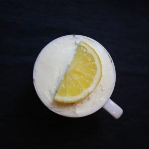 gesunder Tassenkuchen: Zitrone