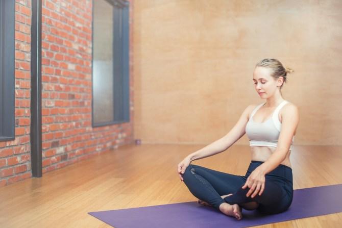 gesunde Körperhaltung: Yoga
