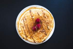 Magerquark: Pancakes