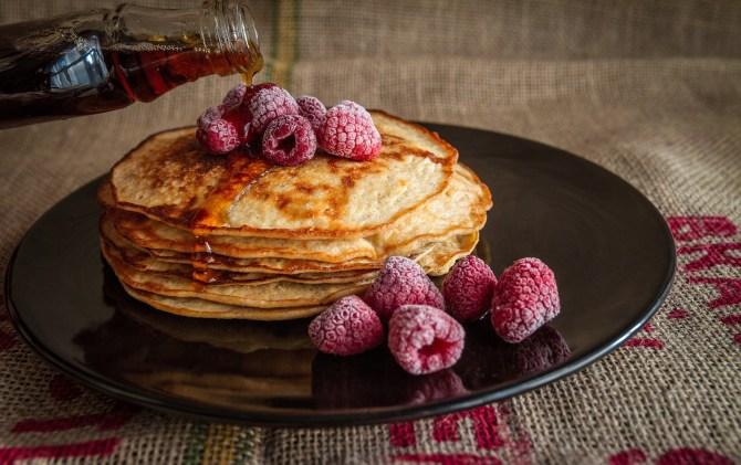 warmes frühstücken: Pancakes