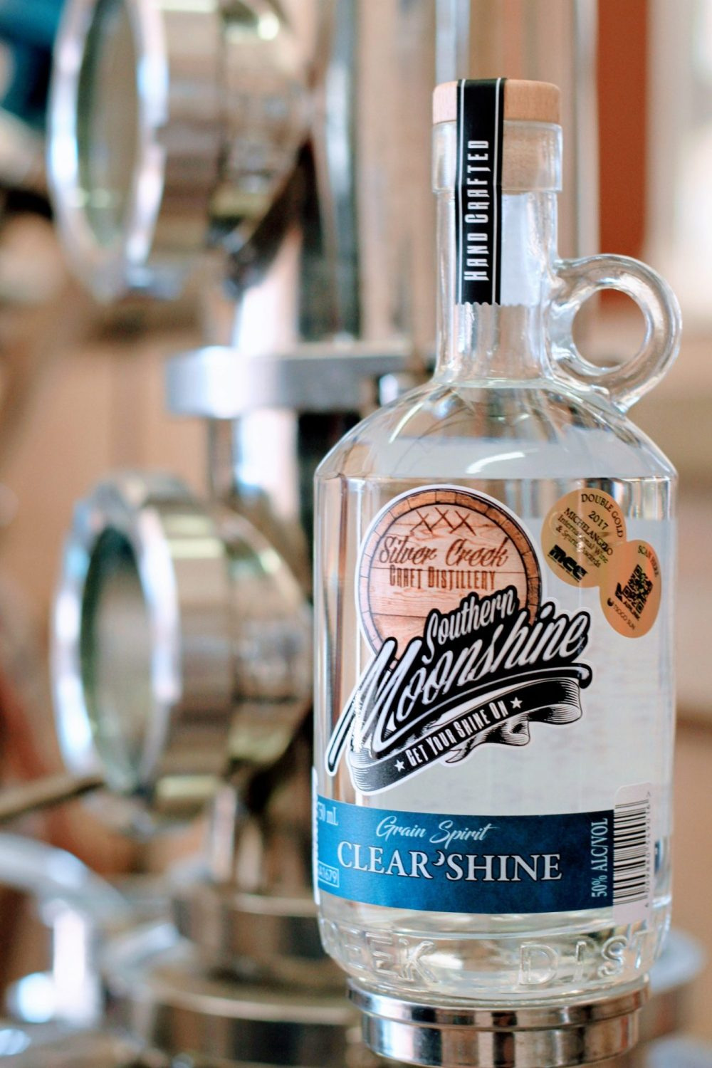 Silver Creek Moonshine Clear Shine sonia cabano blog eatdrinkcapetown