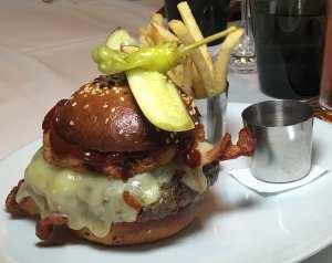 BBQ Bacon Burger from Bourbon Steak