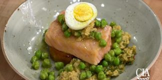 Spanish Olive Oil Poached Salmon