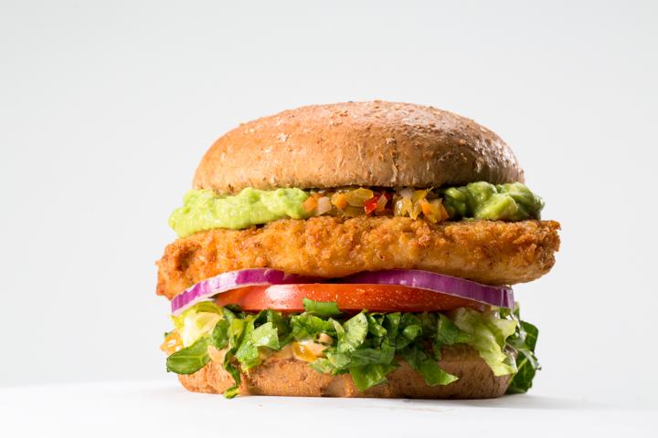 veggie2Santa Fe Crispy Chickin'
