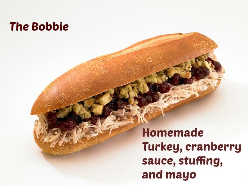 Capriotti's sandwich shop - the bobbie