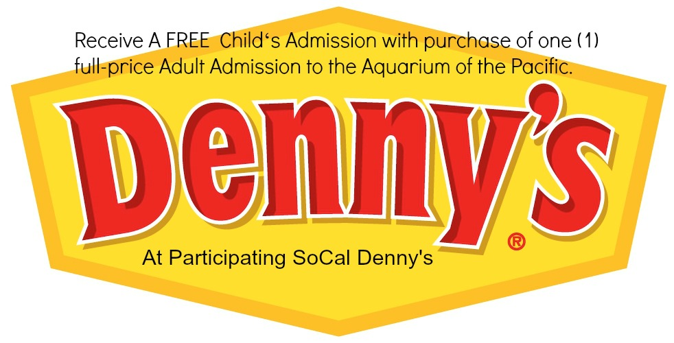 picture about Aquarium of the Pacific Coupons Printable called Dennys Associates With Aquarium Of The Pacific - Consume Consume OC
