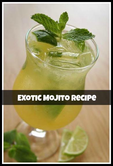 benihana exotic mojito