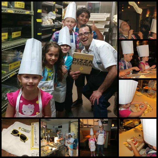 California Pizza Kitchen kids