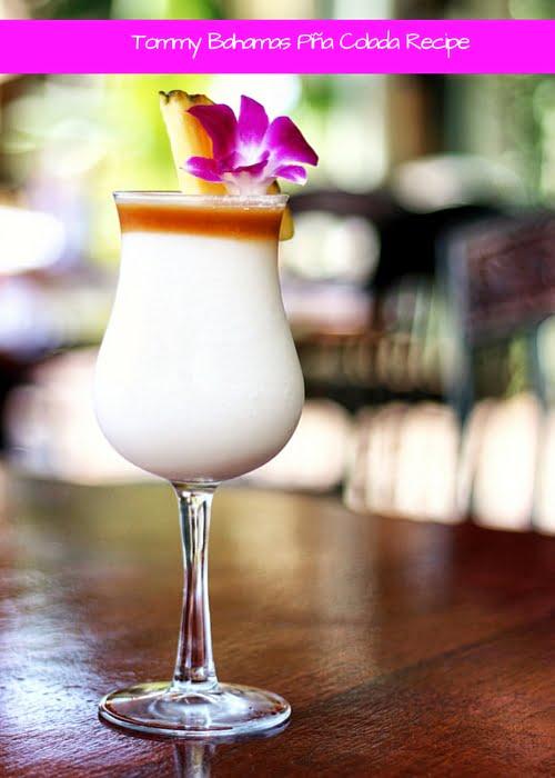 Tommy Bahama Pina Colada Recipe