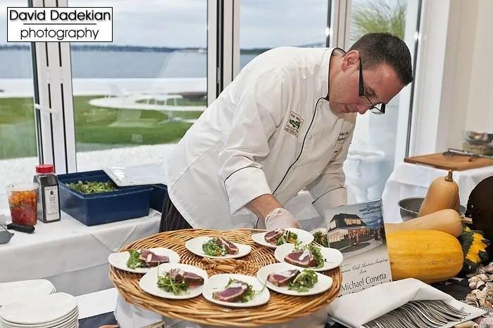 The Mooring's Chef Michael Conetta
