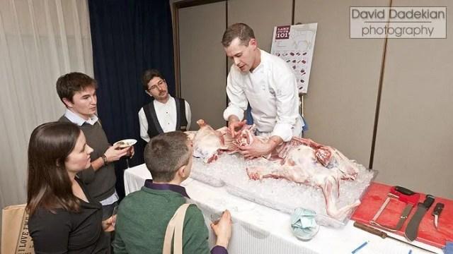 lamb butchery with Tavolo